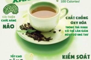 Uống trà xanh vào lúc nào là tốt nhất cho sức khỏe