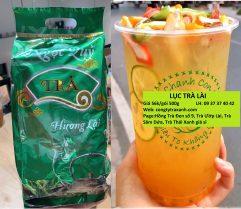 Lục Trà Hương Lài - Dùng pha chế trà chanh, trà tắc, trà trái cây cực thơm ngon